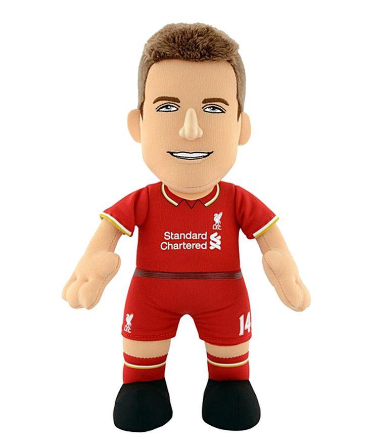 Look what I found on #zulily! Liverpool Jordan Henderson Plush Toy by Bleacher Creatures #zulilyfinds