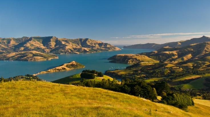 Banks Peninsula New Zealand  city photos gallery : Banks Peninsula, New Zealand | Oh, the Places You'll Go | Pinterest ...