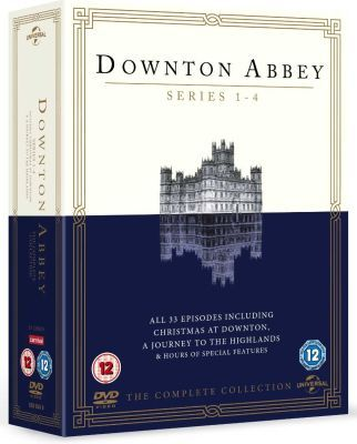 Downton Abbey: The Complete Collection - Season 1 / 2 / 3 / 4 / Christmas At Downton / A Journey To The Highlands (DVD, Boxed...