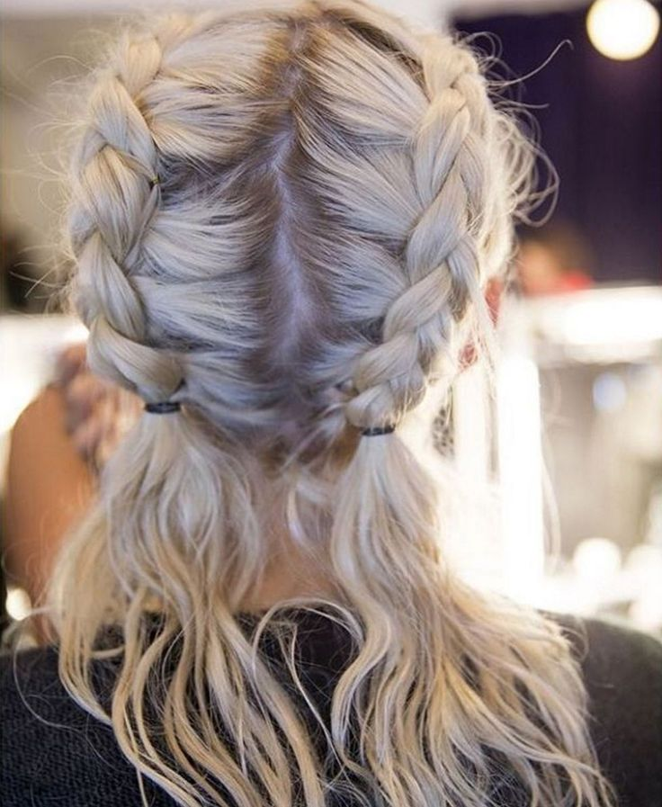 If the boxer braid is too boring for you, make your own variation with personal touches like letting the ends hang loose.  #refinery29 http://www.refinery29.uk/plaits-hair-instagram-hairstyles#slide-14