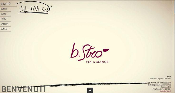 b.strò web-site - italian restaurant on the web