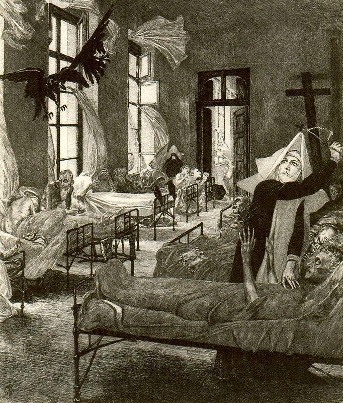 Max Klinger (La Peste)--''The Plague''{c.1898}