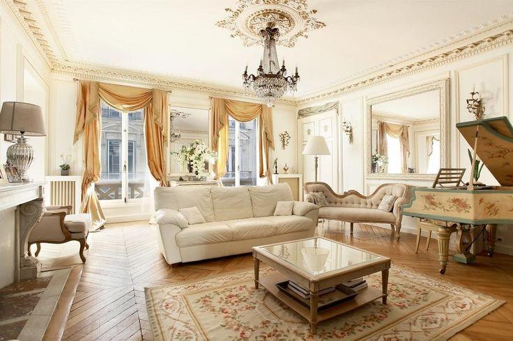 Parisian Style Interior Design | French Interior Design: The Beautiful Parisian Style