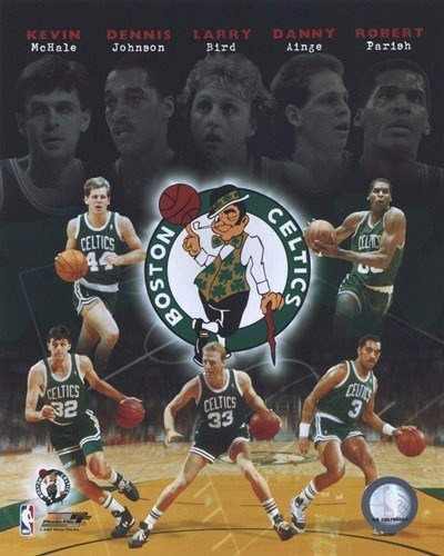 Boston Celtics Big Five Legends Kevin McHale, Dennis Johnson, Larry Bird, Danny Ainge and Robert Parish 8X10 Photo by Photo File, http://www.amazon.com/dp/B002ZK148K/ref=cm_sw_r_pi_dp_vH7Qqb0D9RT5E