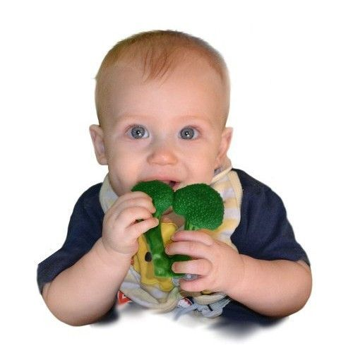 Little Toaders Appeteether  AppeTEETHERS will help your baby through the teething process effectively and humourously. It features resistant material designed to soothe the sore gums of little ones, and a faux-food shape that's designed to amuse parents. Suitable for babies 4 months and older Made of food-grade silicone BPA, PVC and lead-free
