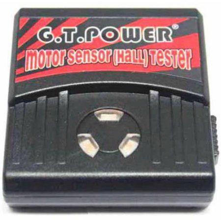 GT Power Motor Sensor (Hall) Tester for Sensored RC Motors