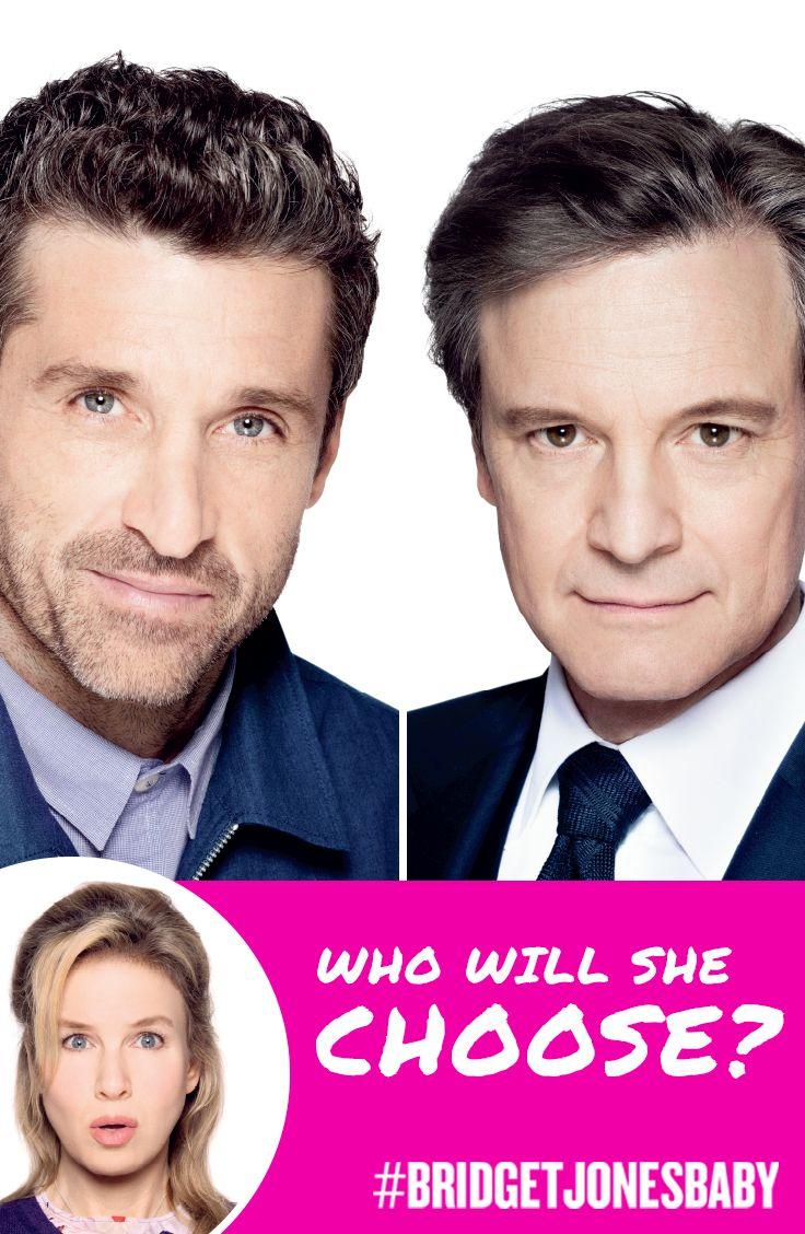 New love or old flame? Who will she choose? | See Renée Zellweger return as Bridget Jones in Bridget Jones's Baby. | In theaters September 16.
