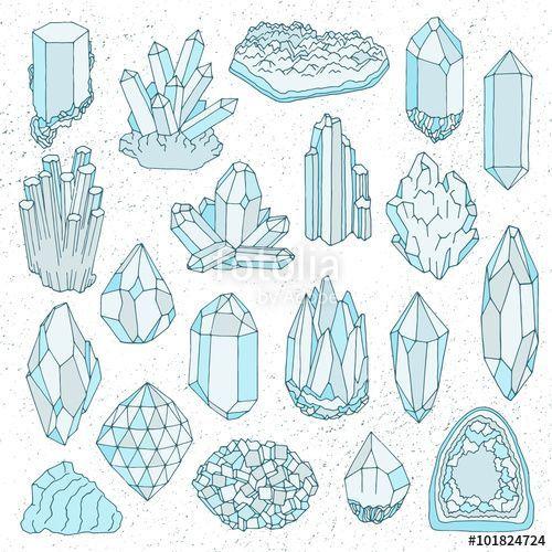 Bildergebnis für crystal illustration