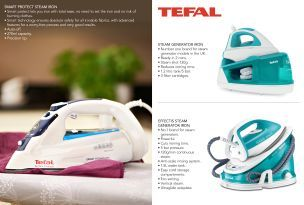 Buy Tefal Effectis Steam Generator Iron from the Next UK online shop