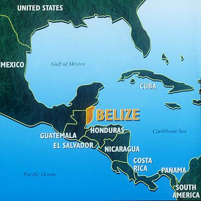 Belize Maps, Tours & Dive Site Maps & Belize Geography - Belize Travel Central Reservations
