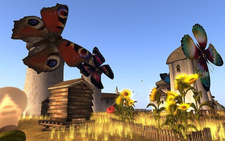 Butterfly Windmills