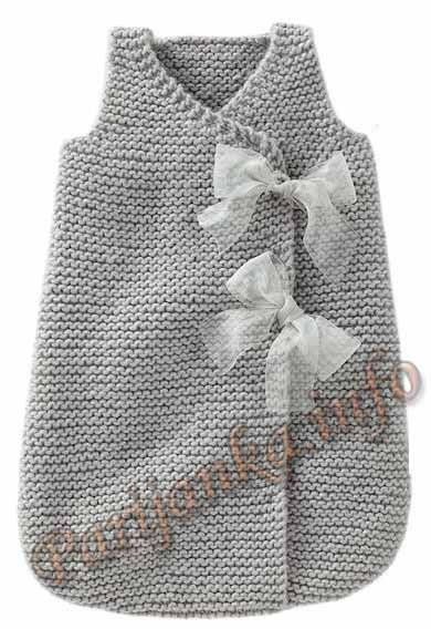 Спальный мешок для девочки (д) 10*165 Bergere de France №3475