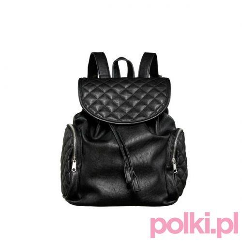 Czarny plecak C&A #polkipl