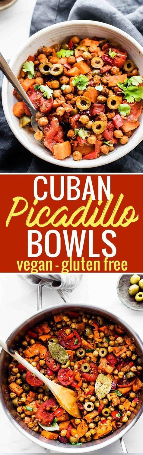 Cuban Sweet Potato Picadillo Bowls make for a wholesome Latin-inspired weeknight meal!
