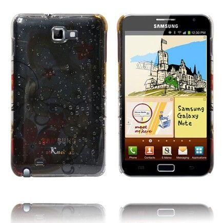 Four Seasons (Oranssi Kukat) Samsung Galaxy Note Suojakuori