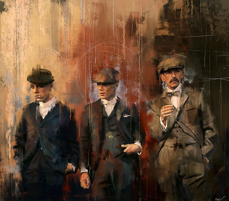 Peaky Blinders // John, Thomas & Arthur Shelby