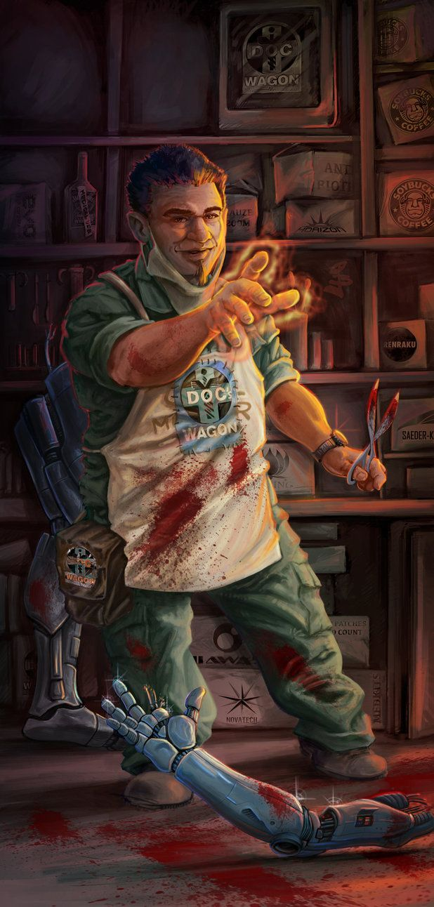Shadowrun 5th Edition  Healer by Tryryche