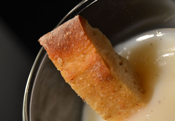 Zuppa di sedano rapa  Celeriac and milk soup