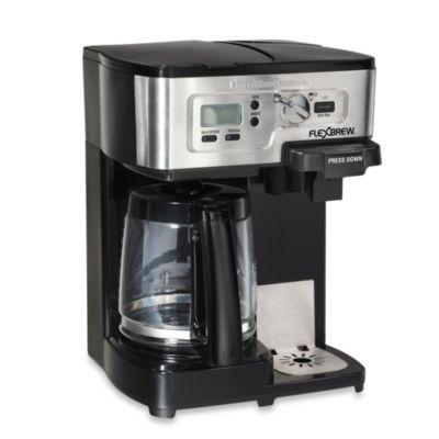 Hamilton Beach® Two-Way FlexBrew® Coffee Maker - BedBathandBeyond.com