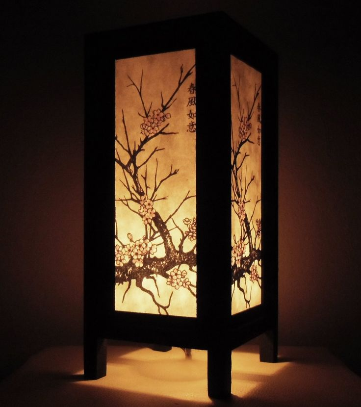 65 best images about lantern handmade on pinterest for Cherry tree floor lamp