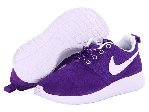 Nike Kids Roshe Run (Little Kid/Big Kid),purple