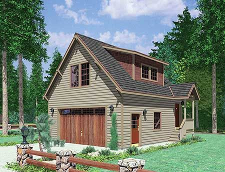 122 best images about small house plans on pinterest for Small two car garage