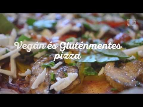 Vegán gluténmentes pizza recept