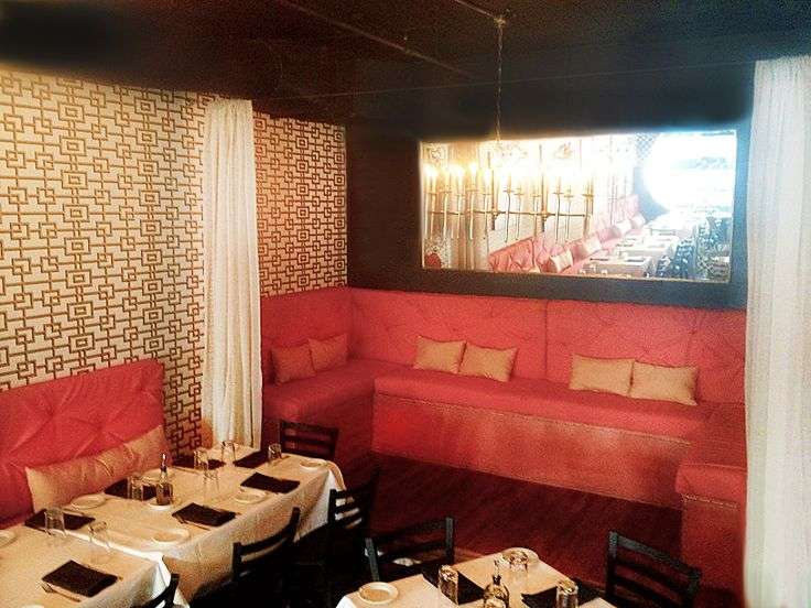 mid century modern italian restaurant by jlv creative - Midcentury Restaurant Interior