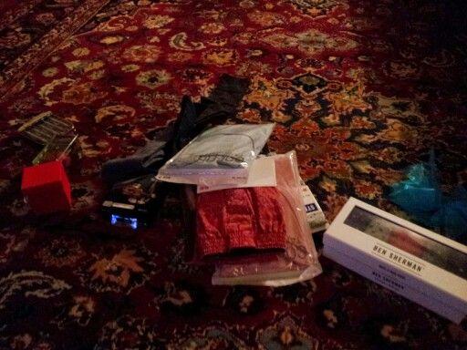 Christmas eve - my presents