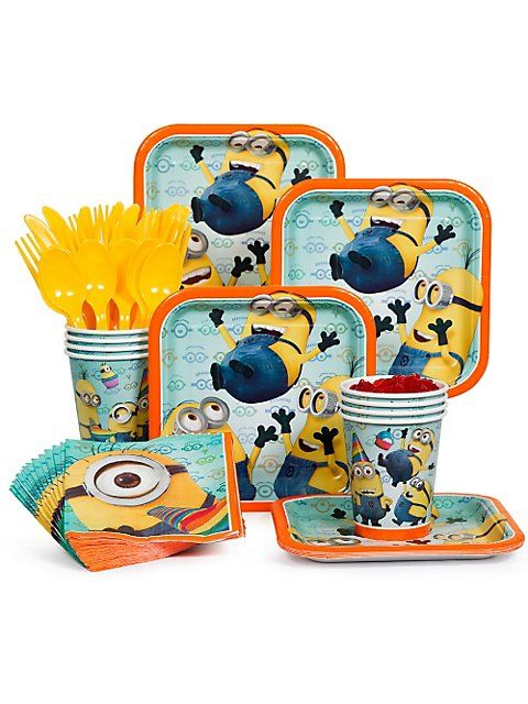 Despicable Me Standard Kit    Despicable Me Viewing Party  For more party ideas visit: www.fireblossomcandle.com