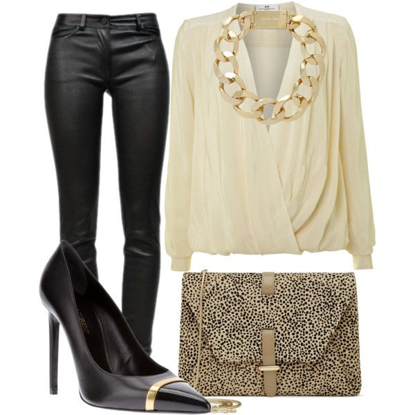 Edgy date night look #fashion [ DDFLImport.com ] | Date ...