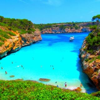 Calo des Moro Beach in Spain❤Beach Photos, Favorite Places, Des Moro, Beautiful Places, Mallorca Spain, Amazing Places, Moro Beach, Travel, Calo Des