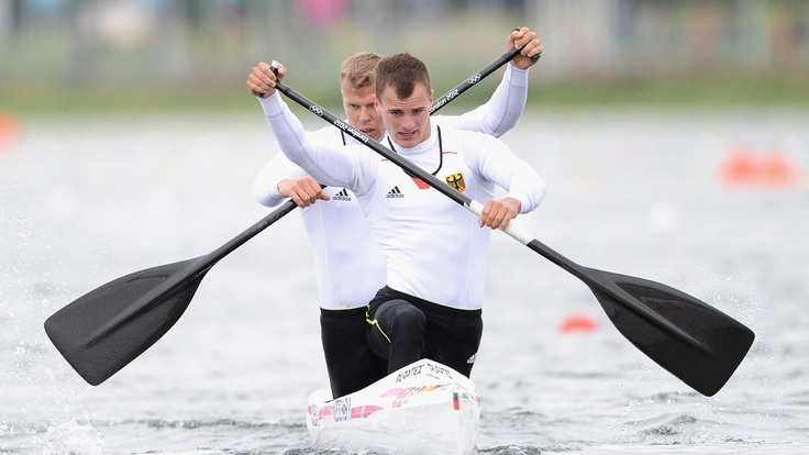 Men's Canoe Double (C2) 1000m Photos - Olympic Canoe sprint | London 2012 Olympics