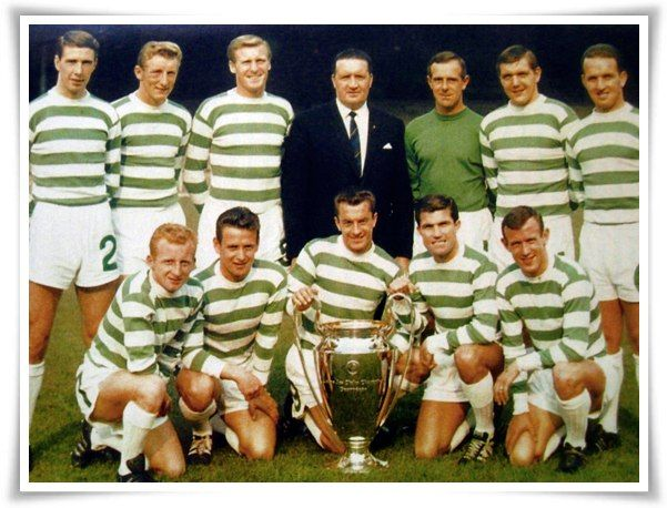 1967 Celtic shirt. With every player born within 30 miles of Celtic park went on to win the European Cup. Lisbon Lions indeed.