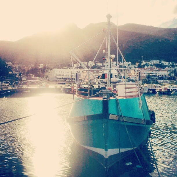 #kalkbay #harbour #fishing #boat #scenic #africa #capetown #mothercity