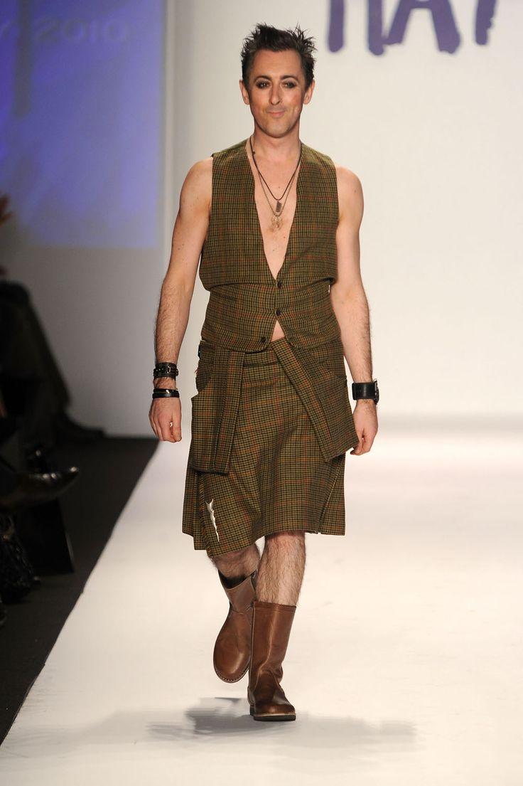 Alan Cumming fashion week 2010