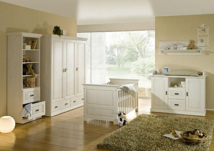 Fresh ODETTE Babybett Kiefer Massivholz wei gewachst Die Kinderzimmerserie Odette wirkt durch die Konzentration auf das Wesentliche u hochwertige handwerkliche