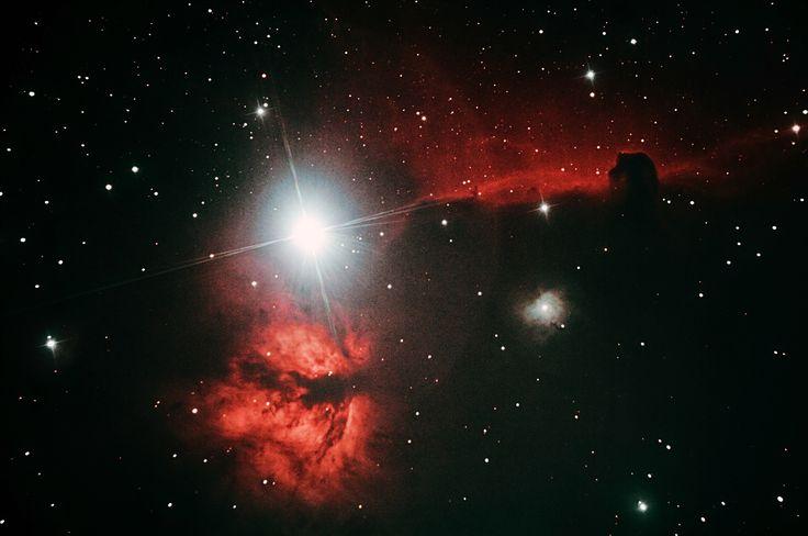 Flame & Horsehead Nebulae (re-proc)
