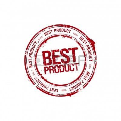 Wektor najlepszy produkt lider pieczęć Zdjęcie Seryjne