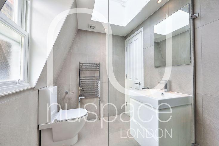 l-shaped mansard loft conversion in wimbledon. #nuspacelondon #loftconversionlondon #bathroom