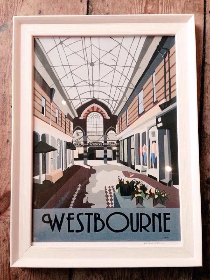 A decor style print of our lovely Westbourne!