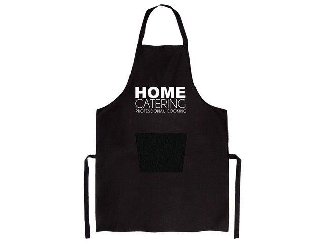 Gusta schort Home Catering. Dit schort mag niet ontbreken als je in de keuken aan de slag gaat. Universele maat, past iedereen, dus dit keukenschort is geschikt voor alle keukenprinsen en -princessen.