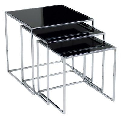 Best 25 Black Glass Side Table Ideas On Pinterest Wood