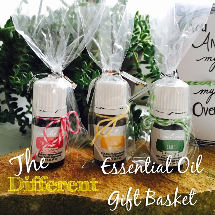 Here's a fun way to give the gift of essential oils, even ...