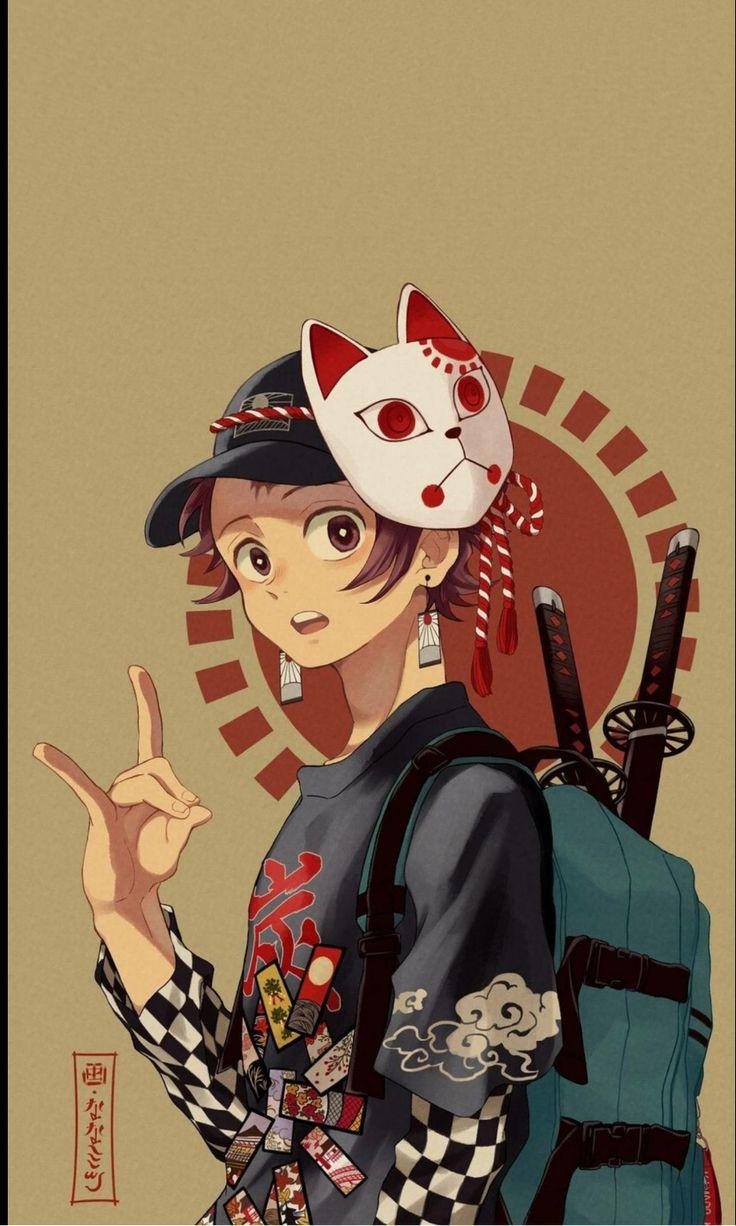 My boy from kimetsu no yaiba ( demon slayer) Wallpaper