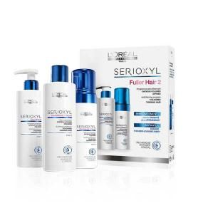 Sada - set pro barvené prořídlé vlasy LOREAL PROFESSIONNEL SERIOXYL Kit For Coloured Hair