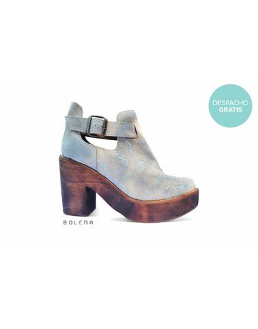 Botín Adele Beige | Chilean handmade shoes