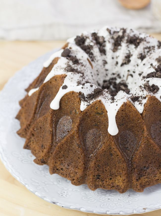 Objetivo: Cupcake Perfecto.: Bundt Cake de Oreo  https://es.pinterest.com/thehappygrl/recetas-en-espa%C3%B1ol/