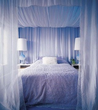 17 Best ideas about Canopy Curtains on Pinterest | Bed curtains ...