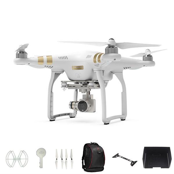 Kaufen DJI Phantom 3 Professional Version mit 4K Kamera RC Quadcopter(Propellers+Schutzring+Linsenschutz+ Lens Gimbal Schutzboard+Sonnenblende+Rucksack) mit Dem niedrigsten Preis und Top-Service! - FPV - Quadrocopter - Nach Typ